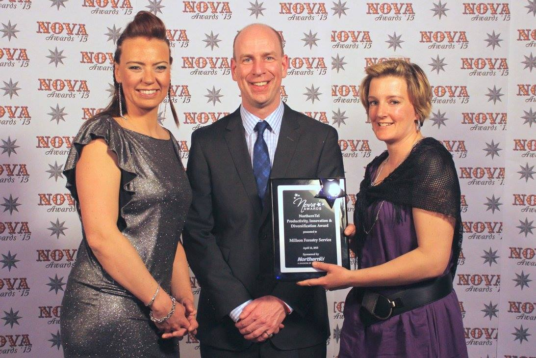 Millson Wins 2015 Nova Award